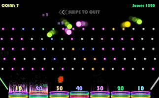 Screenshot of Plinko!