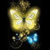 3D cute butterfly 2