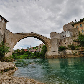 Mostar by Gergana Stefanova - Landscapes Travel ( neretva, travel, landscape, mostar, bride, river )