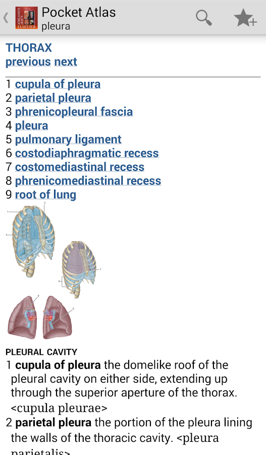 Pocket Atlas of Anatomy TR- screenshot