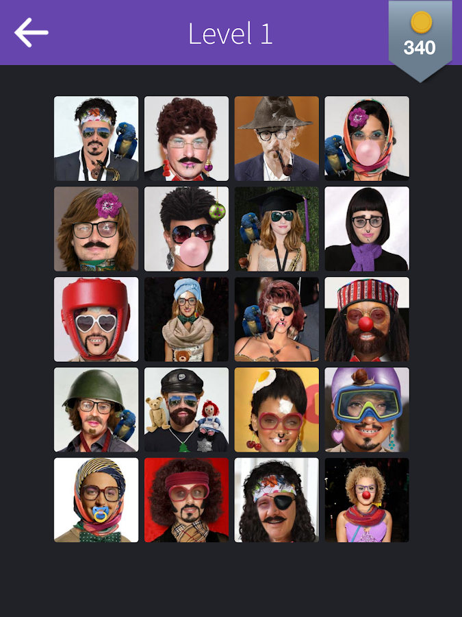 Facequiz - Celebrities Quiz- screenshot