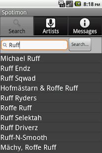 Spotimon- screenshot thumbnail