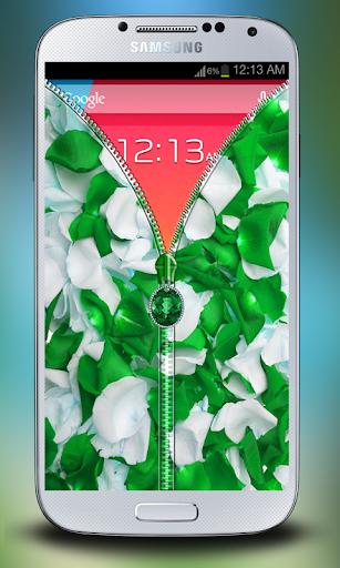玩免費個人化APP|下載綠色花瓣拉鍊儲物櫃 app不用錢|硬是要APP