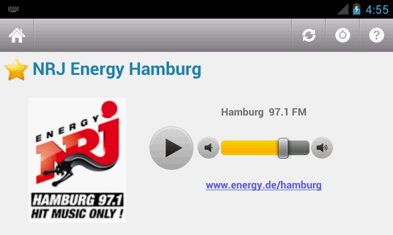 Deutsche Radio - screenshot