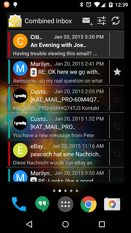 K-@ Mail - Email App - screenshot