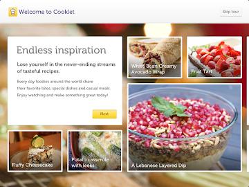 Cooklet for tablets Screenshot 2