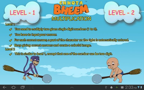 Fun Math with Chhota Bheem - screenshot thumbnail