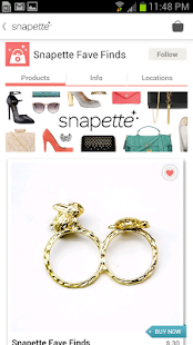 Snapette - Shopping & Fashion - screenshot thumbnail