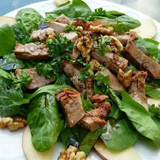 Pork, Pear and Walnut Salad.