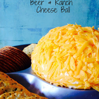 Beer & Ranch Cheese Ball