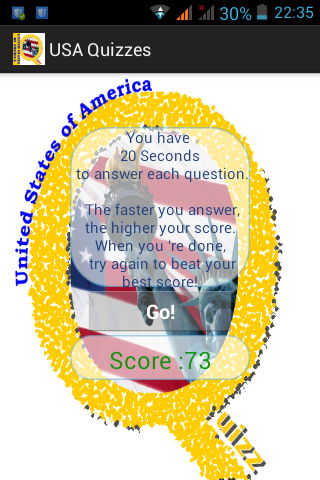 USA Quiz List