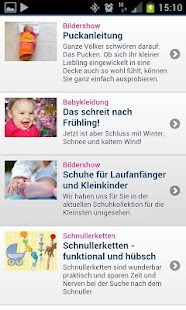Eltern.de - screenshot thumbnail
