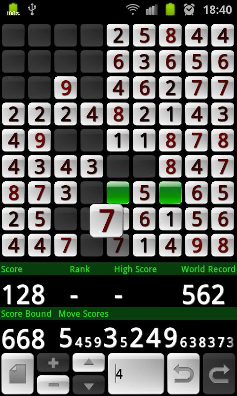 Number Puzzle Premium - screenshot