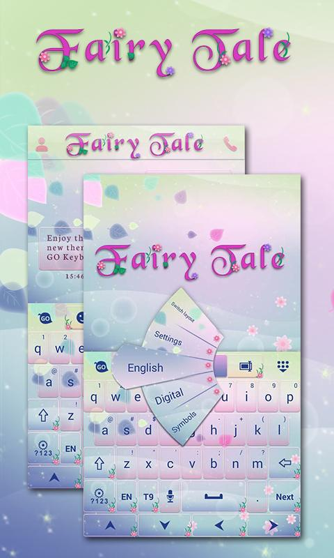 Fairy Tail Go Keyboard Theme- screenshot