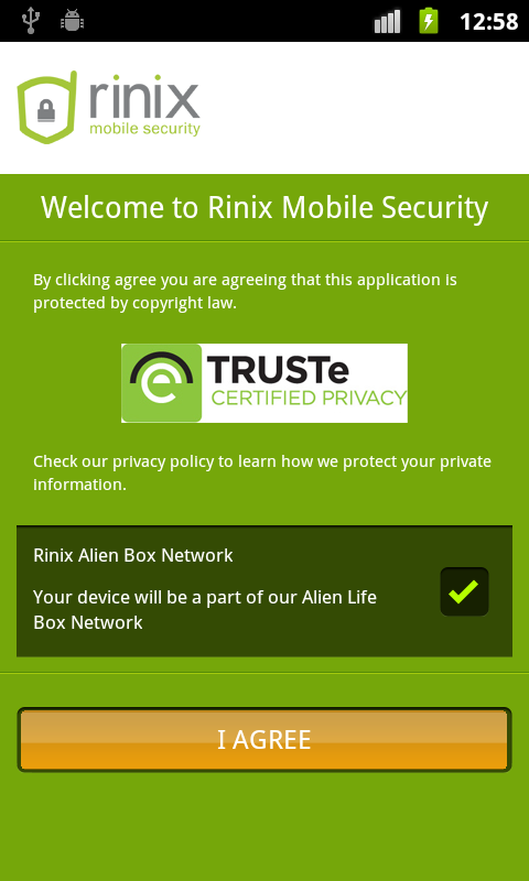 Free Antivirus 2014 - Android - screenshot