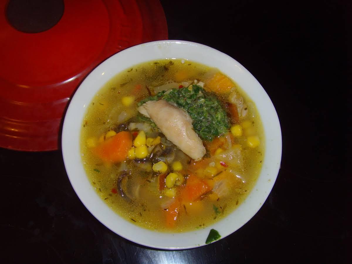 Flu-Busting Chicken Soup