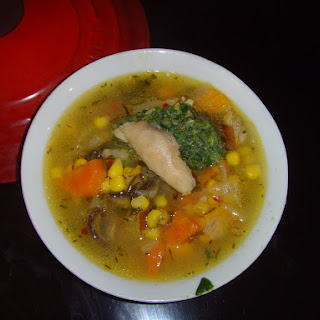 Flu-Busting Chicken Soup