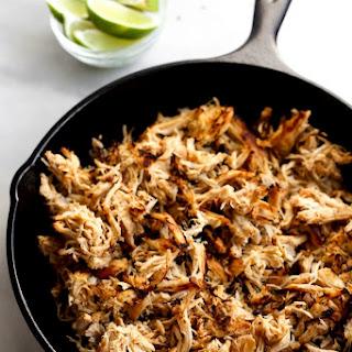 Slow Cooker Chicken Carnitas