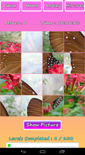 Butterfly Photo Puzzle Screenshot 2