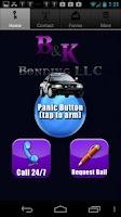 Screenshot of B and K Bail Bonds