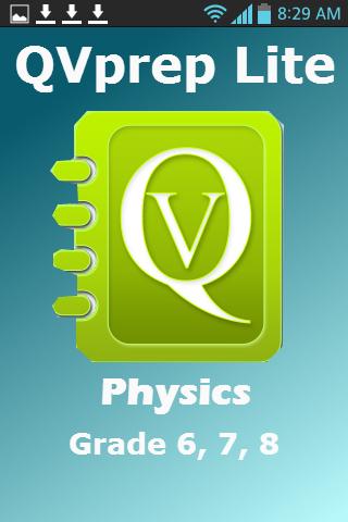 Science Grade 8 7 6 Physics