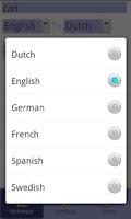 Screenshot of Translator Dictionary - Free