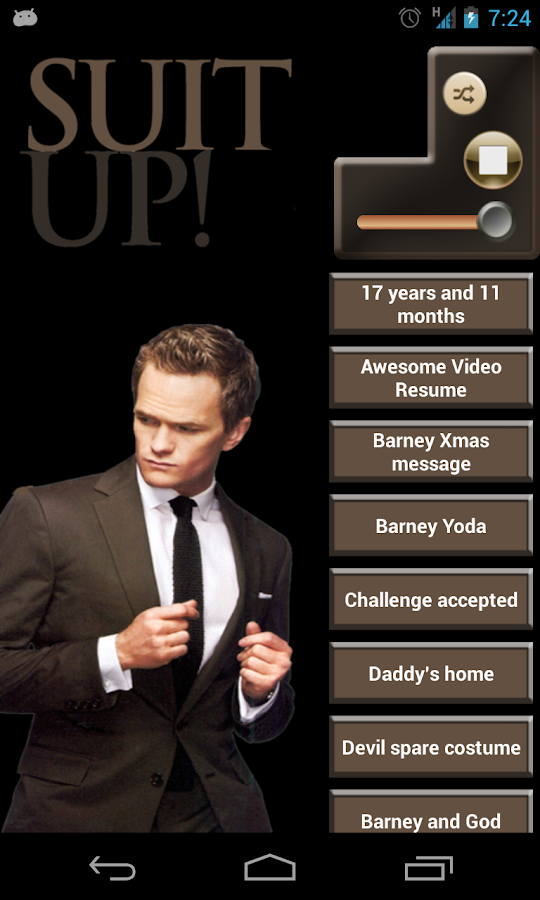 Barney Stinson Best Quotes - Android Apps On Google Play