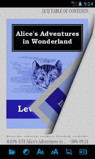 AlReader -any text book reader 1.911805270 screenshots 1