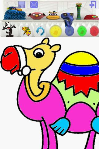 kid coloring free - screenshot