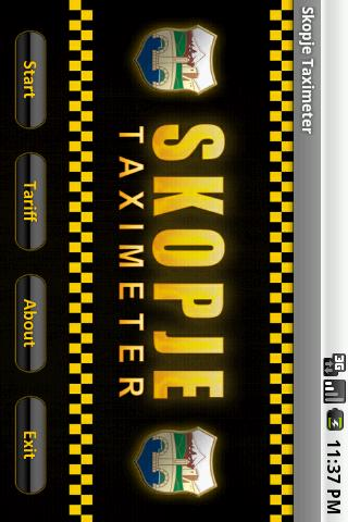 Skopje Taximeter - screenshot