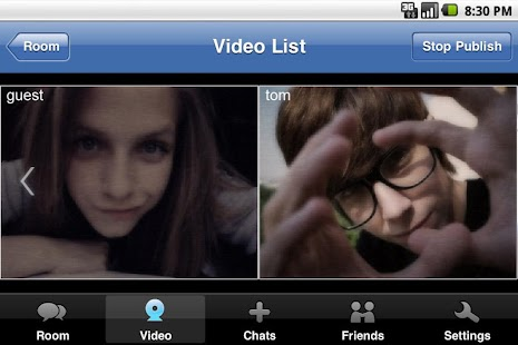 123FlashChat1.1.0- screenshot thumbnail