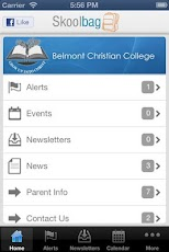 Belmont CC - Skoolbag Android Education