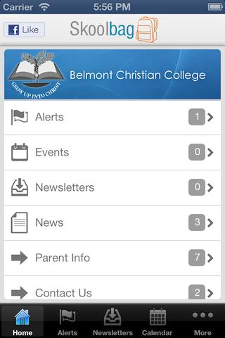 Belmont Christian College - screenshot