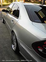 メルセデスベンツ ダイムラーメルセデス w211 04y 洗車達人PRO.com 東京都 会員様