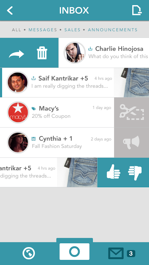 Postelio - Shopping Companion - screenshot