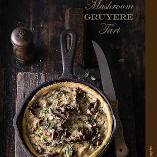 Mushroom Gruyere Tart.