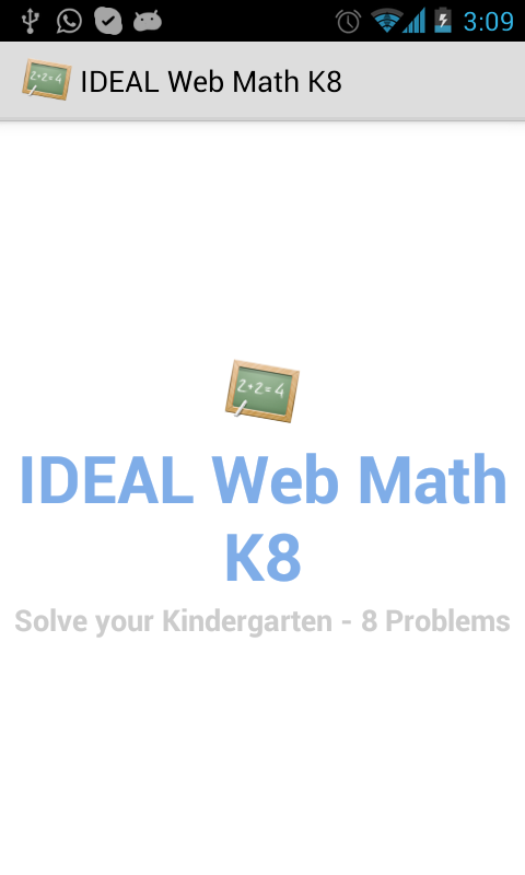 IDEAL Web Math K-8 - screenshot