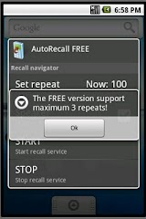 AutoRecall, auto dial TICKET Apk Download Free for PC, smart TV