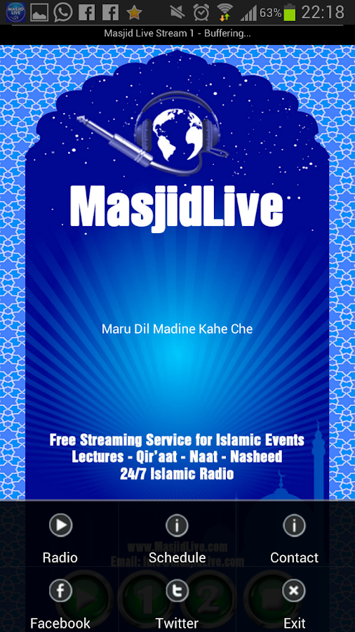 Masjid Live- screenshot