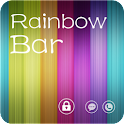 RainbowBar GO Locker Theme logo