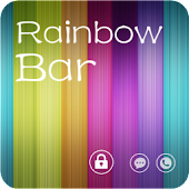 RainbowBar GO Locker Theme