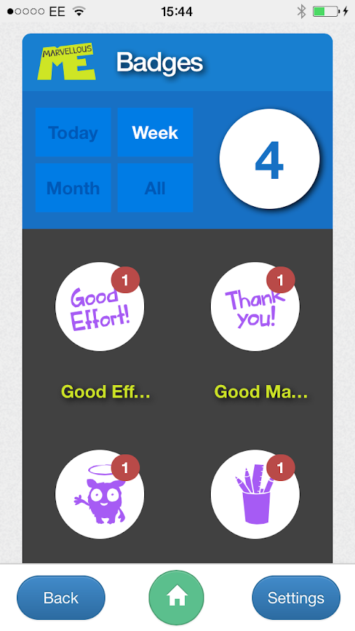 MarvellousMe for Parents- screenshot