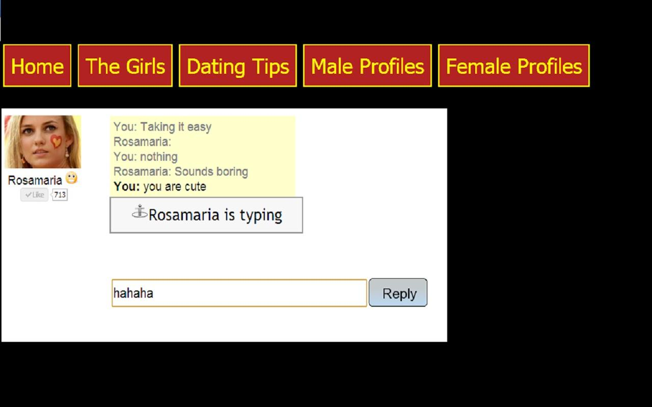 Spanish Girl Chat Dating - screenshot