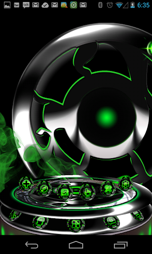 Next 3D Theme Green Twister