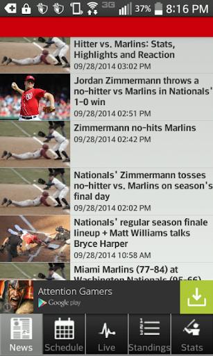 Washington Baseball