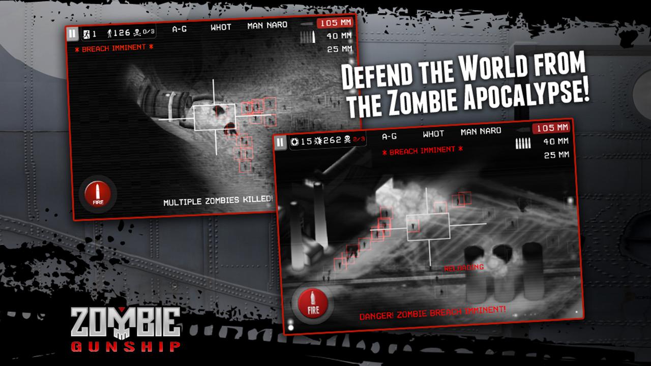 Zombie Gunship screenshot #2