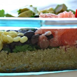 Black Bean, Quinoa and Citrus Salad [v] [veg] [gf]