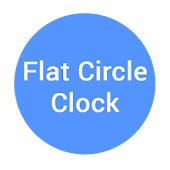 Flat Moonshine Clock - UCCW