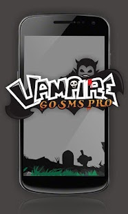 GO SMS Pro Vampire ThemeEX - screenshot thumbnail