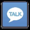 카카오톡 다크 스카이블루 테마 icon